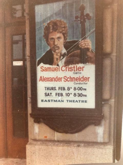 1976 concert poster